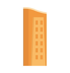 urban building tower structure icon vector image