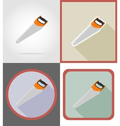 repair tools flat icons 06 vector image vector image