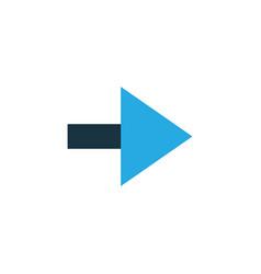 forward colorful icon symbol premium quality vector image