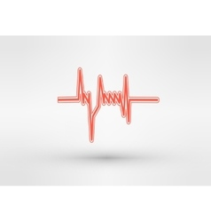 icon of equalizer vector image
