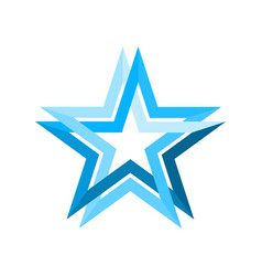 Blue star infinite loop vector