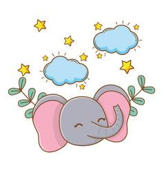 Cute little animal pet cartoon vector