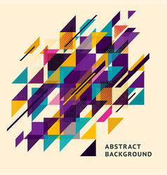 minimalistic design diagonal abstract background vector image