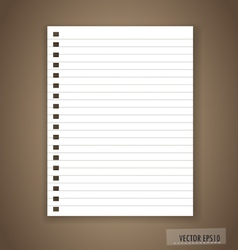 Paper ready for your text vector image