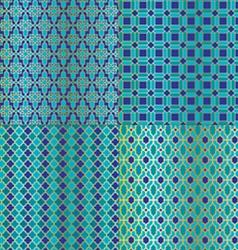 Tile patterns vector
