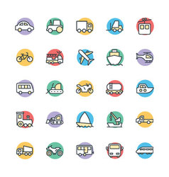 Transport Cool Icons 1 vector