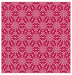 Geometric seamless pattern with lines and circles vector image vector image