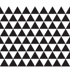 Abstract geometric seamless texture of triangles vector image vector image