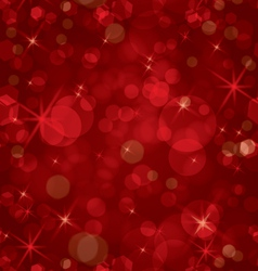 Sparkling red seamless vector image vector image