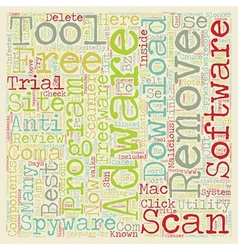 Best Free Adware And Spyware Removal Tool vector image