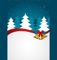 Christmas background seasons greetings vector