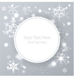 creative christmas shyning background with vector image