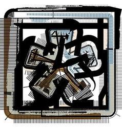 Grunge Symbol vector
