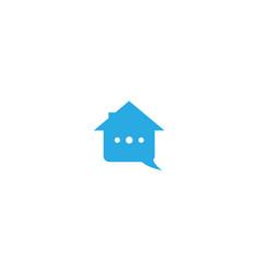Home services logo design template vector