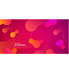 Liquid dynamic background vector