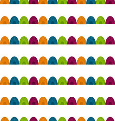 Semicircle seamless pattern vector
