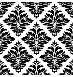 Classic damask seamless pattern vector image