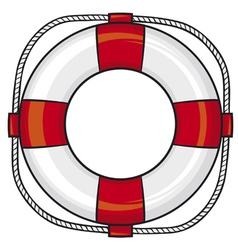 lifesaver vector image
