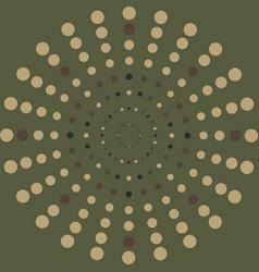 Halftone pattern background dots texture retro vector