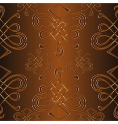 Seamless pattern with ornament vector image
