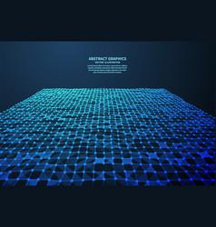 abstract digital surface vector image