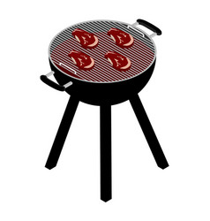 barbecue grill set vector image