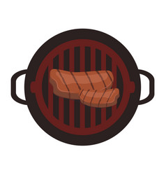 barbeque logo vector image
