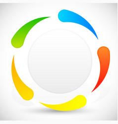 Circular template vector