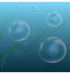 Currency bubble3 vector
