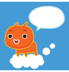 Talk To Sky vector image