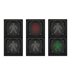 Traffic light 05 vector