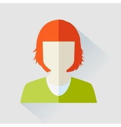User woman icon vector image