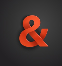 Modern stylish icon vector image vector image