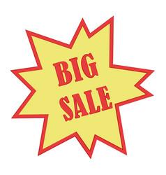 Big sale marker icon design vector