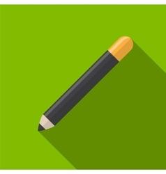 Cosmetic pencil flat icon vector image