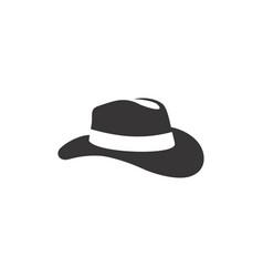 cowboy hat silhouette clip art vector image