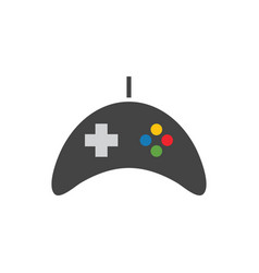 game controller icon graphic design template vector image