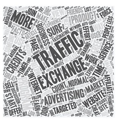 How do Traffic Exchanges Work and How do I get vector image