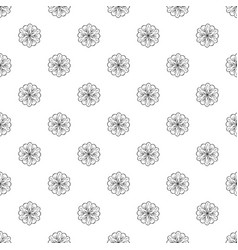 medicine flower pattern seamless vector image