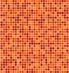 Orange pixel design background vector