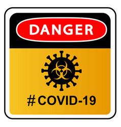 Qovid-19 pandemic stop novel coronavirus outbreak vector