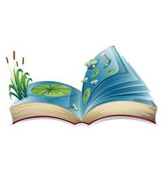 River book vector