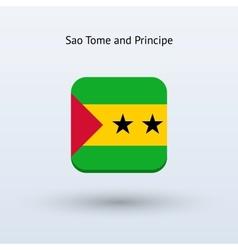 Sao Tome and Principe flag icon vector image