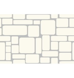 Stone bricks Seamless vector image