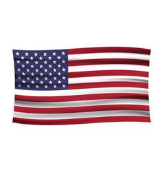 United states flag usa flag american symbolunited vector