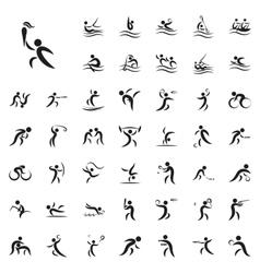 summer sport games vector image