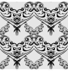 victorian seamless vector image vector image