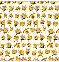 bee paper vector image