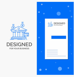 business logo for bank payments banking financial vector image