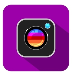 Colorful Camera Icon vector